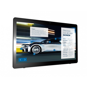 """Philips Signage Solutions Multi-Touch Display 24"""", Powered by Android, Multi-touch 24BDL4151T/00"""