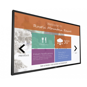 """Philips Signage Solutions Multi-Touch Display 75"""", Edge-lit LED, Ultra HD 75BDL3010T/00"""