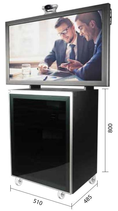 AVLOGIC AV-DS5611 TV Mobile cart w/ Cabinet