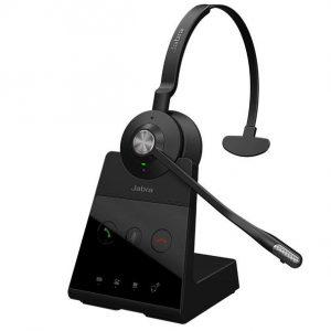 Jabra Engage 65 Mono Wireless Noise Cancelling Headset With Charging Base