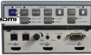 IPC8+ Projector Controller Switcher w/ 60 watt speakers