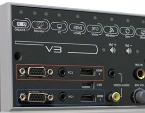 V3 Projector Controller Switcher w/ 60 watt speakers