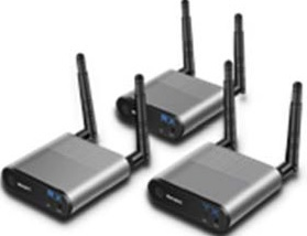 Measy Air Pro 2 wirelesss HDMI to HDMI (1 transmitter to 2 receivers)