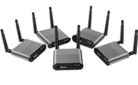 Measy Air Pro 4 wirelesss HDMI to HDMI (1 transmitter to 4 receivers)