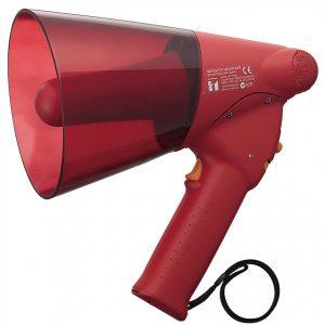 ER-1206S (10W max.) Splash-proof Hand Grip Type Megaphones with Siren