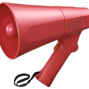 ER-520S(10W max.) Hand Grip Type Megaphone with Siren