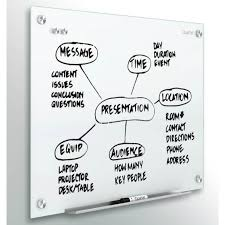"""QUARTET Infinity™ Glass Magnetic Boards 48"""" x 36"""""""""""