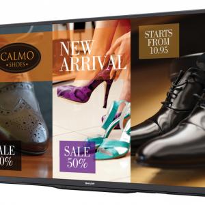 "SHARP PN-Q601 60"" Full HD commercial display"