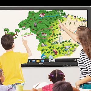 "BenQ 75"" Education Interactive Flat Panel Display RP750K"