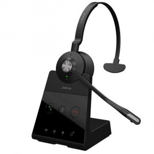 Jabra Engage 75 Stereo Wireless Noise Cancelling Headset With Charging Base