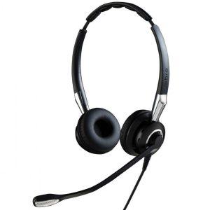 Jabra Biz 2400 II MS Duo Corded Headset, USB, CC